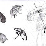 Croquis de Parapluies Design