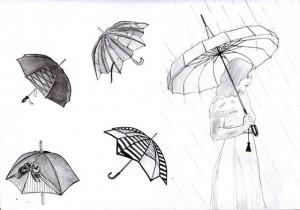 parapluies-design-croquis-graphite