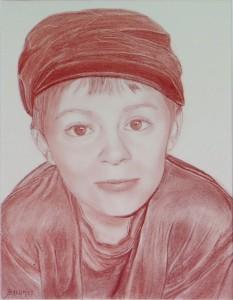 portrait sanguine-portrait-enfant-sanguine-portrait salomée-dessin