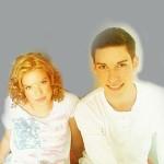 Portrait à la sanguine : Laurie et Denis 2