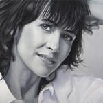 Sophie Marceau – Portrait aux Pastels